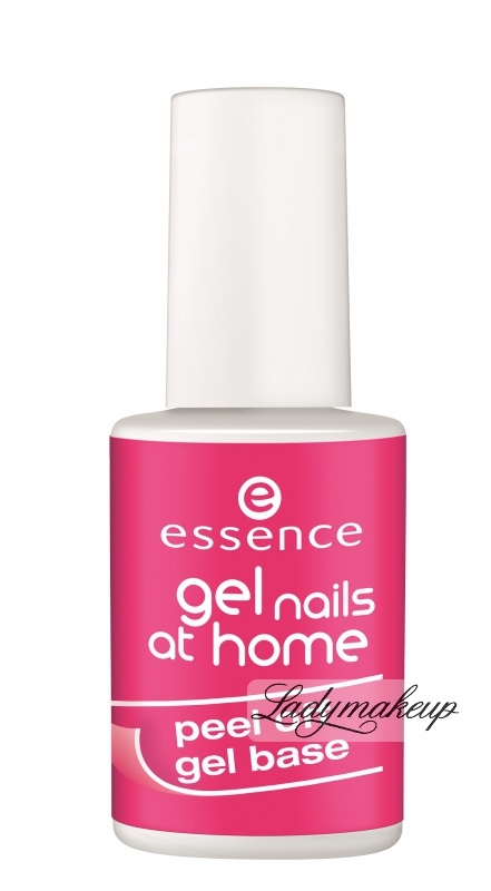 essence gel nails at home peel off gel base lakier. Black Bedroom Furniture Sets. Home Design Ideas