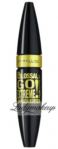 MAYBELLINE - The COLOSSAL GO EXTREME! Volum' Express - Pogrubiający tusz do rzęs - LEATHER BLACK