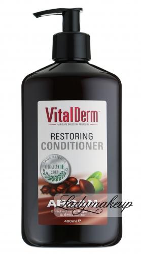 VitalDerm - RESTORING CONDITIONER - Odbudowująca odżywka do włosów z olejem arganowym