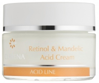 Clarena - Retinol & Mandelic Acid Cream - Krem przeciwzmarszczkowy z kwasem migdałowym i retinolem - REF: 1291