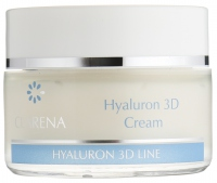 Clarena - Hyaluron 3D Cream - Ultra-nawilżający krem z 3 rodzajami kwasu hialuronowego - REF: 1338