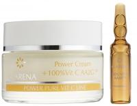 Clarena - Power Cream + 100% Vit C AA2G™ - Krem ze 100% aktywną witaminą C oraz ekstraktem z jedwabiu - REF: 1838