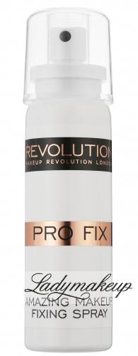 MAKEUP REVOLUTION - PRO FIX - Amazing Makeup Fixing Spray - Utrwalacz makijażu