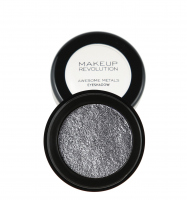 MAKEUP REVOLUTION - Awesome Metals Foil Finish - Metaliczny cień do powiek - BLACK DIAMOND