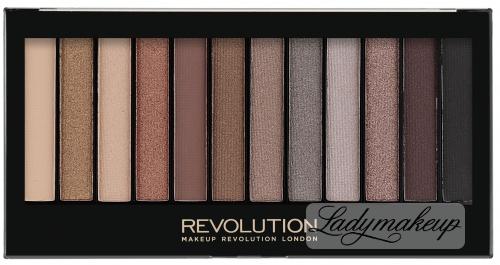 MAKEUP REVOLUTION - Redemption Palette ICONIC 2 - Palette of 12 eyeshadows