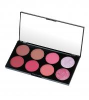 MAKEUP REVOLUTION - Ultra Blush Palette SUGAR AND SPICE - Paleta 8 róży