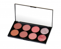 MAKEUP REVOLUTION - Ultra Blush Palette HOT SPICE - Paleta 8 róży