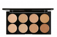 MAKEUP REVOLUTION - Ultra Cover & Conceal Palette - Paleta 8 korektorów - LIGHT-MEDIUM - LIGHT-MEDIUM