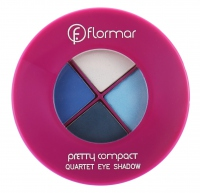 Flormar - Pretty - Quadruple Eyeshadow