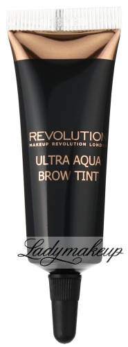 MAKEUP REVOLUTION - ULTRA AQUA BROW TINT - Farba do brwi