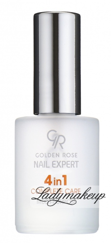 Golden Rose - Nail Expert - 4 in 1 COMPLETE CARE - Odżywka do paznokci 4 w 1 - kompleksowa ochrona