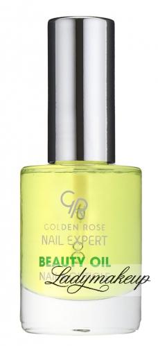 Golden Rose - Nail Expert - BEAUTY OIL NAIL & CUTICLE - Olejek odżywczy do skórek i paznokci