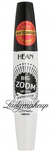 HEAN - BIG ZOOM express volume mascara - Pogrubiająco-wydłużający tusz do rzęs - BLACK