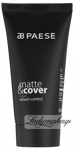 PAESE - Matte & cover sebum control - Podkład matująco-kryjący
