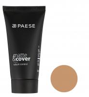 PAESE - Matte & cover sebum control - Podkład matująco-kryjący - 202 - NATURALNY - 202 - NATURALNY