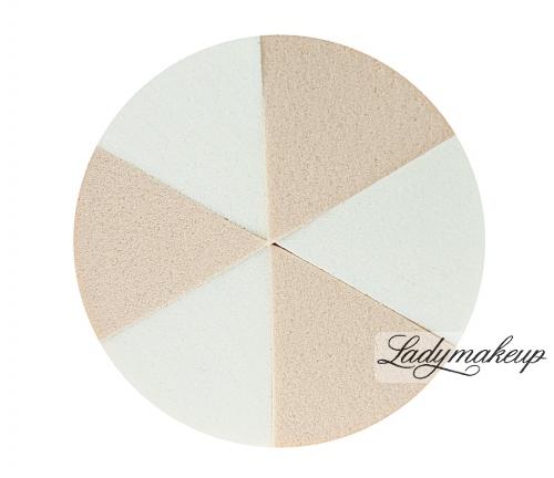 Flormar - LATEX SPONGE SET - Zestaw 6 gąbek do makijażu