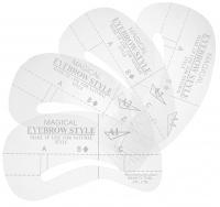 MAGICAL - EYEBROW-STYLE - Zestaw 4 szablonów do stylizacji brwi