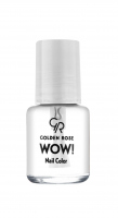 Golden Rose - WOW! Nail Color - Lakier do paznokci - 6 ml - CLEAR - CLEAR