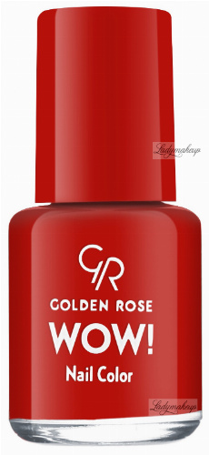 Golden Rose - WOW! Nail Color - Lakier do paznokci - 6 ml