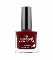 Golden Rose - RICH COLOR - Nail Lacquer - Długotrwały lakier do paznokci - 123 - 123