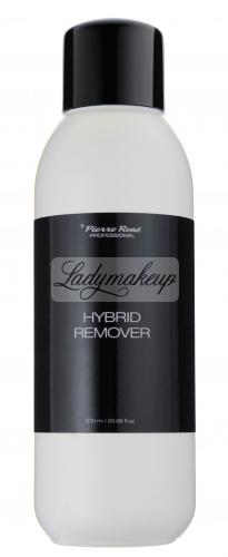 Pierre René - HYBRID REMOVER - Płyn do usuwania masy żelowej, lakierów hybrydowych - 570 ml