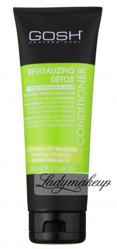 GOSH - REVITALIZING DETOX CONDITIONER - Odżywka do włosów rewitalizująco-wzmacniająca - 250 ml