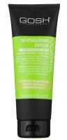 GOSH - REVITALIZING DETOX SHAMPOO - Szampon do włosów rewitalizująco-wzmacniający - 250 ml