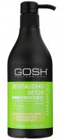GOSH - REVITALIZING DETOX SHAMPOO - Szampon do włosów rewitalizująco-wzmacniający - 500 ml