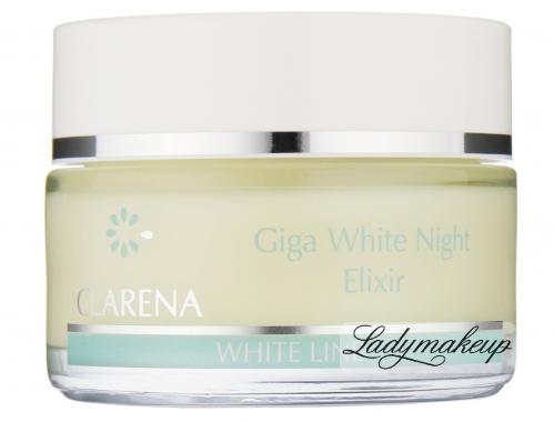 Clarena - Giga White Night Elixir - Eliksir wybielający na noc - REF: 1857