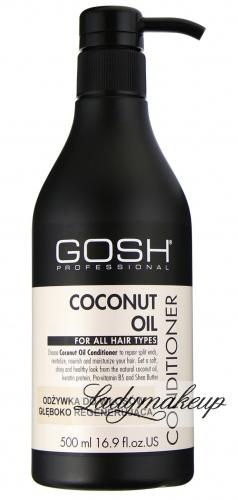 GOSH - COCONUT OIL CONDITIONER - Odżywka do włosów głęboko regenerująca z olejem kokosowym - 500 ml