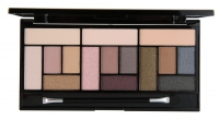 MAKEUP REVOLUTION - STRIPPED & BARE PRO LOOKS - Palette of 15 eyeshadows
