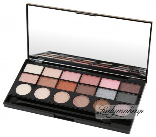 MAKEUP REVOLUTION - GIRL PANIC - Exclusive Eyeshadow Palette - Paleta 18 cieni do powiek