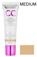 LUMENE - CC Color Correcting Cream - Krem CC - ROZŚWIETLACZ/ KOREKTOR/ PODKŁAD - MEDIUM