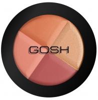 GOSH - Multicolour blush - Róż na policzki - Mozaika