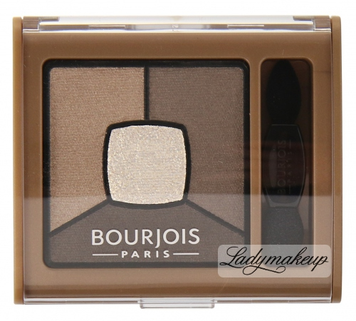 Bourjois - SMOKY STORIES - Quad eyeshadow palette