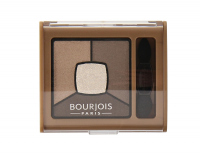 Bourjois - SMOKY STORIES - Quad eyeshadow palette - 06 - UPSIDE BROWN - 06 - UPSIDE BROWN