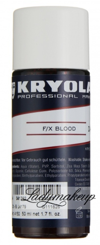 KRYOLAN - F/X Blood - Artificial Blood - ART. 4150