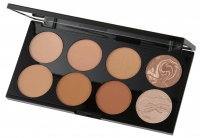 MAKEUP REVOLUTION - Ultra Bronze Palette - Paleta 8 bronzerów - ALL ABOUT BRONZE