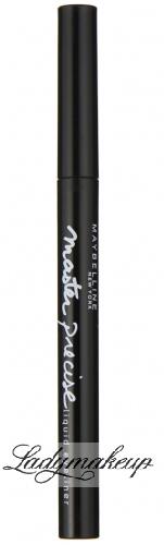 MAYBELLINE - Master precise liquid eyeliner - Eyeliner w pisaku - BLACK