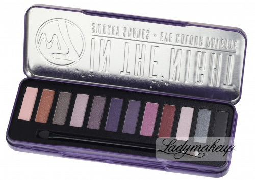W7 - IN THE NIGHT - SMOKEY SHADES - EYE COLOUR PALETTE - Paleta 12 cieni do powiek