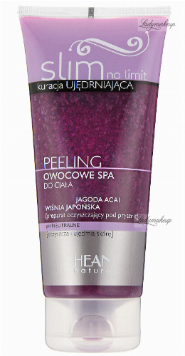 HEAN - Slim no limit - PEELING - Owocowe SPA do ciała