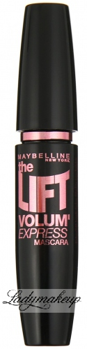MAYBELLINE - THE LIFT VOLUME EXPRESS MASCARA - Tusz pogrubiająco-podkręcający - BLACK
