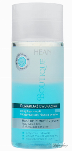 HEAN - BOUTIQUE - Make up remover 2-phases - Dwufazowy płyn do demakijażu