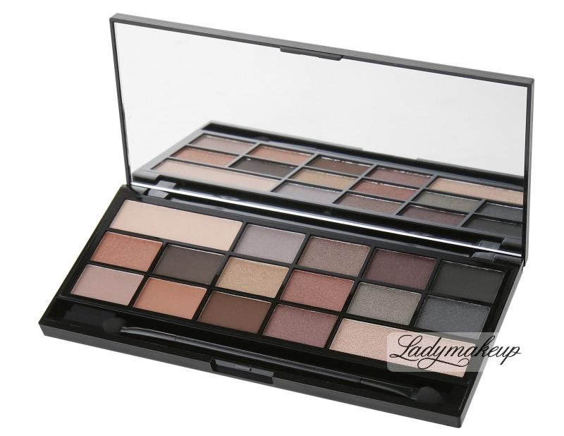 Inteligentny I ♡ Makeup - Naked Underneath - Palette of 16 eyeshadows YF56