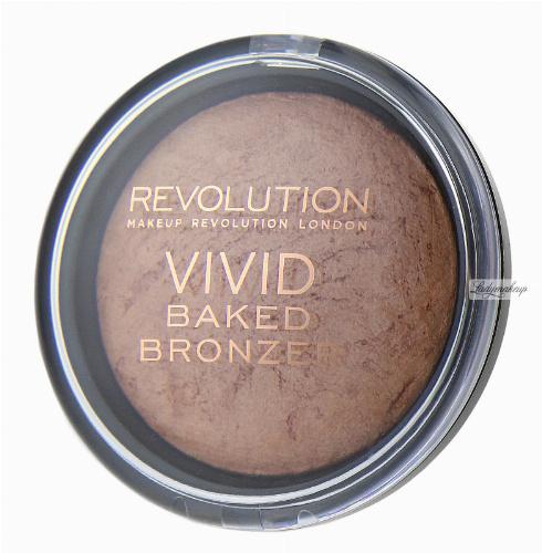 MAKEUP REVOLUTION - VIVID Baked BRONZER - Bronzer wypiekany