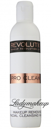 MAKEUP REVOLUTION - PRO CLEANSE - Makeup Removing Facial Cleansing Water - Płyn do demakijażu