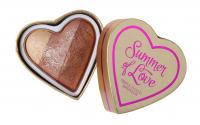 I Heart Revolution - Summer of Love Triple Baked Bronzer - Bronzer - HOT SUMMER OF LOVE - HOT SUMMER OF LOVE