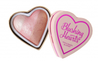 I Heart Revolution - Blushing Hearts Triple Baked Blusher - Róż do policzków - ICED HEARTS - ICED HEARTS