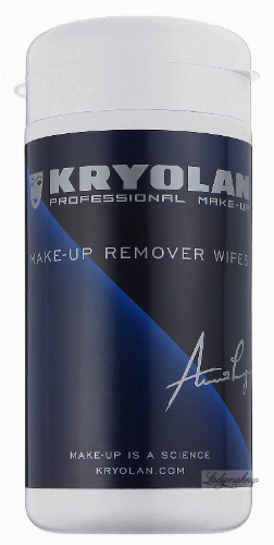 KRYOLAN - MAKE-UP REMOVER WIPES - Chusteczki do demakijażu - 60 szt. - ART. 5624