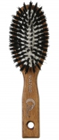 GORGOL - NATUR - Pneumatyczna szczotka do włosów z naturalnego włosia - 15 01 130